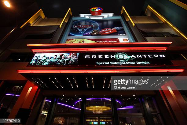 A general view of atmosphere at the 2011 Los Angeles Film Festival Green Lantern special screening held at Regal Cinemas LA Live on June 16 2011 in...