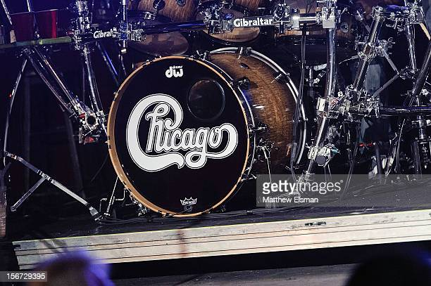A general view of atmosphere at the 2012 Musicians On Call benefit concert featuring the rock band Chicago at BB King Blues Club Grill on November 19...