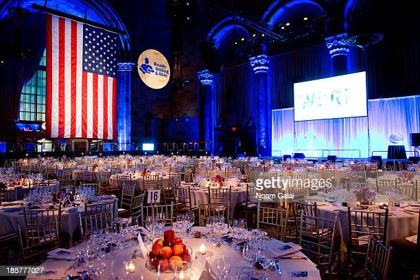 General view of atmosphere at the 2013 Doe Fund gala at Cipriani 42nd Street on October 24, 2013 in New York City.