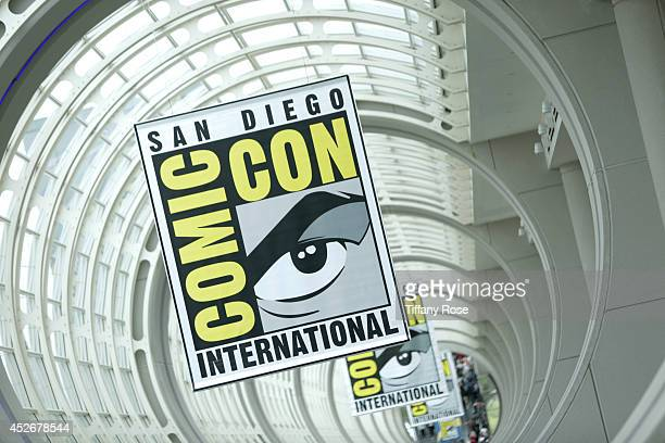 A general view of atmosphere at the 2014 San Diego ComicCon International Day 3 on July 25 2014 in San Diego California