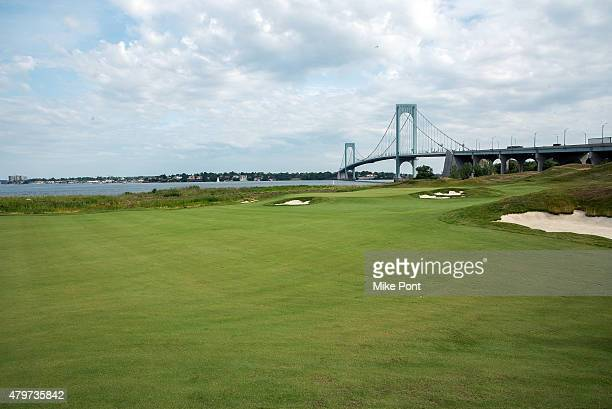 A general view of atmosphere at the 2015 Hank's Yanks Golf Classic at Trump Golf Links Ferry Point on July 6 2015 in New York City