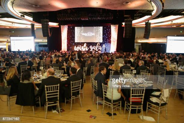 A general view of atmosphere at the 2017 Make a Wish Gala on November 9 2017 in Los Angeles California
