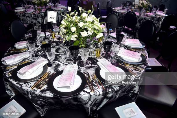 A general view of atmosphere at the 2018 Children's Hospital Los Angeles 'From Paris With Love' Gala at LA Live on October 20 2018 in Los Angeles...