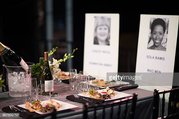 A general view of atmosphere at The 22nd Annual Screen Actors Guild Awards BehindTheScenes at The Shrine Expo Hall on January 28 2016 in Los Angeles...