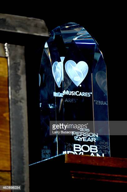 General view of atmosphere at the 25th anniversary MusiCares 2015 Person Of The Year Gala honoring Bob Dylan at the Los Angeles Convention Center on...