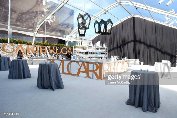 A general view of atmosphere at the 26th annual Elton John AIDS Foundation Academy Awards Viewing Party sponsored by Bulgari celebrating EJAF and the...