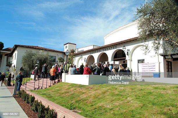 A general view of atmosphere at the 29th Santa Barbara International Film Festival on January 31 2014 in Santa Barbara California