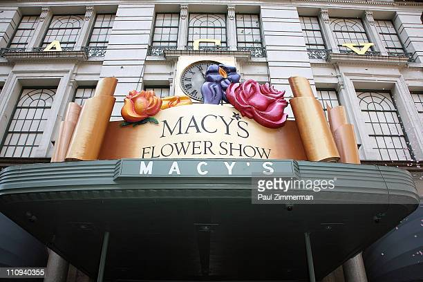 General view of atmosphere at the 37th Annual Macy's Flower Show at Macy's Herald Square on March 27, 2011 in New York City.