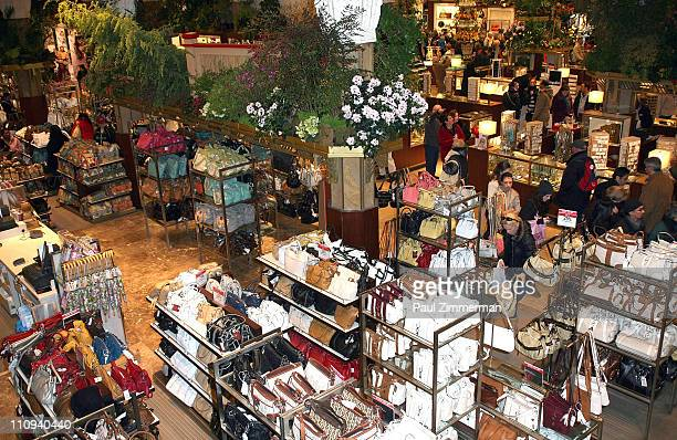 A general view of atmosphere at the 37th Annual Macy's Flower Show at Macy's Herald Square on March 27 2011 in New York City