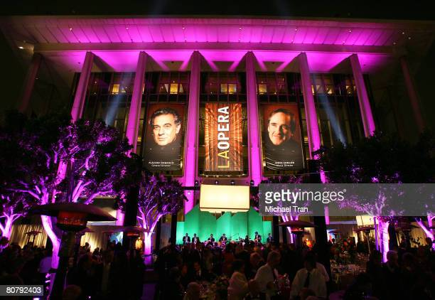 General view of atmosphere at the 40th Anniversary Gala honoring Placido Domingo presented by the LA Opera held at the Dorothy Chandler Pavilion on...