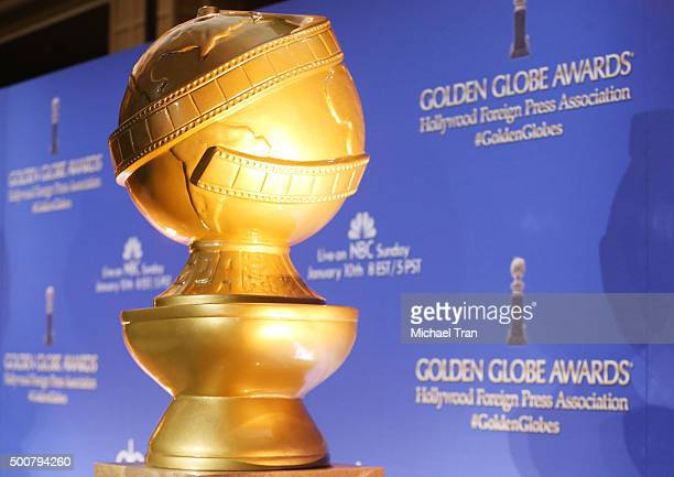 A general view of atmosphere at the 73rd Annual Golden Globe Awards nominations announcement held at The Beverly Hilton Hotel on December 10 2015 in...
