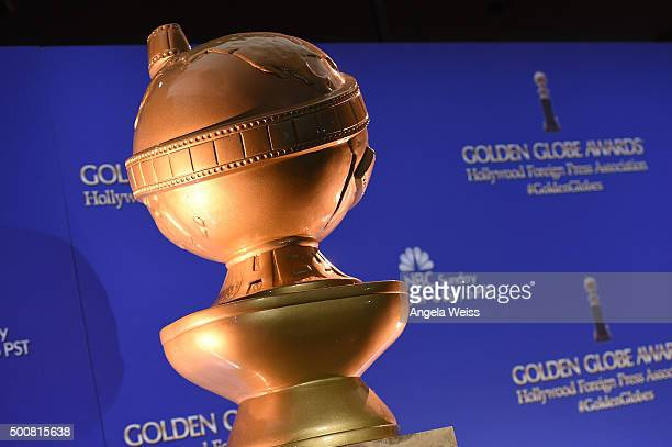 A general view of atmosphere at the 73rd Annual Golden Globe Awards nominations announcement at The Beverly Hilton Hotel on December 10 2015 in...