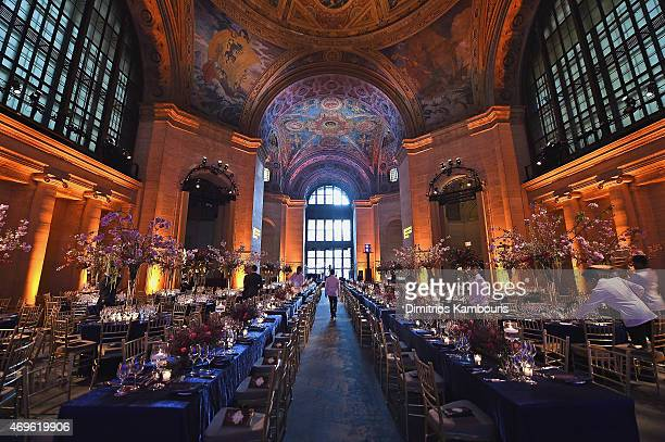 A general view of atmosphere at the 7th Annual Blossom Ball benefiting the Endometriosis Foundation of America hosted by EFA Founders Padma Lakshmi...
