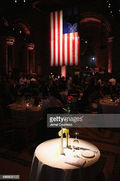 General view of atmosphere at the 9th Annual IAVA Heroes Gala at the Cipriani 42nd Street on November 12 2015 in New York City