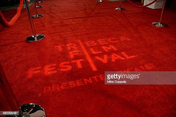 A general view of atmosphere at the About Alex Premiere during the 2014 Tribeca Film Festival at BMCC Tribeca PAC on April 17 2014 in New York City