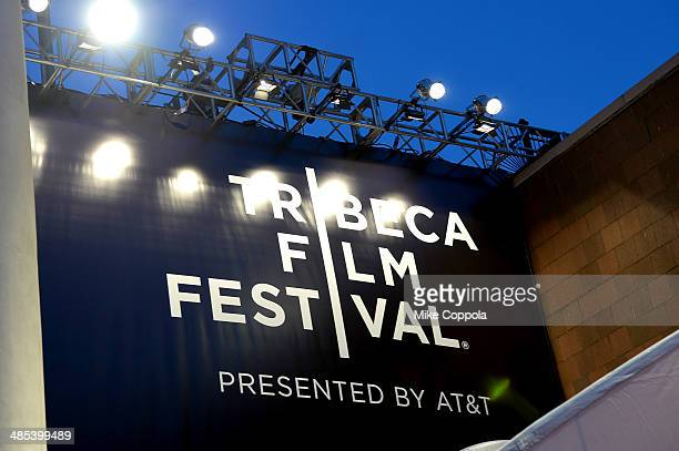 """General view of atmosphere at the """"About Alex"""" Premiere during the 2014 Tribeca Film Festival at BMCC Tribeca PAC on April 17, 2014 in New York City."""