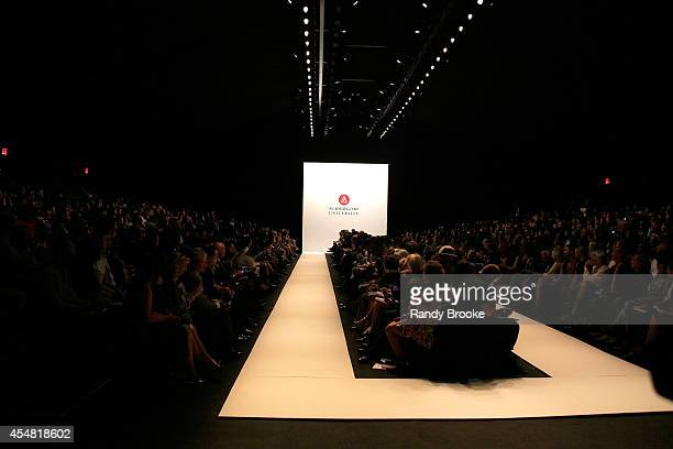 A general view of atmosphere at the Academy Of Art University Spring 2015 Collections during MercedesBenz Fashion Week Spring 2015 at The Theatre at...