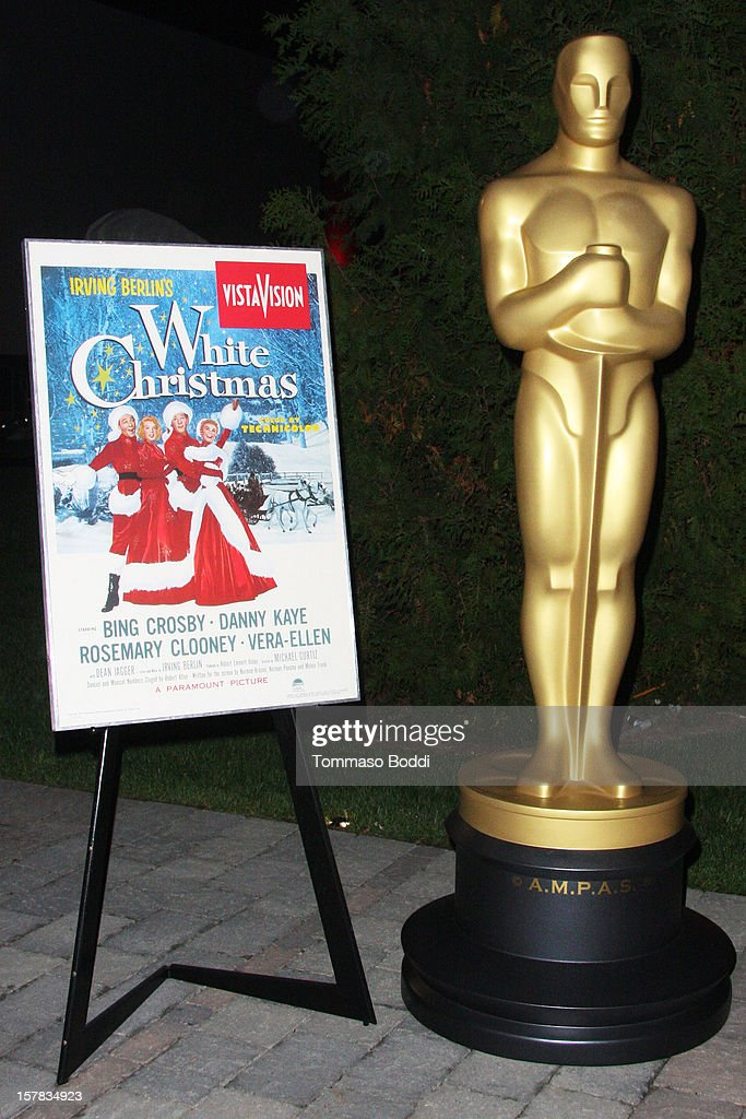 A general view of atmosphere at the Academy Of Motion Picture Arts and Sciences' presents it's a 'White Christmas' held at Oscars Outdoors on December 6, 2012 in Hollywood, California.