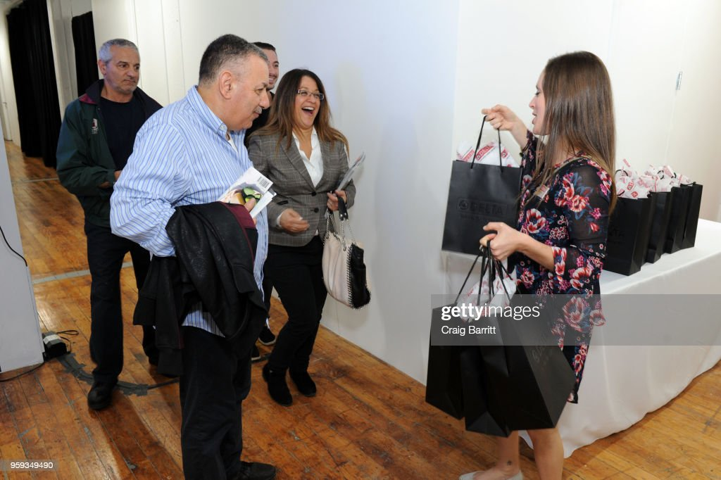 A general view of atmosphere at the AD, Bon Appetit and Delta Faucet toast of the Conde Nast Kitchen Studio on May 16, 2018 in New York City.