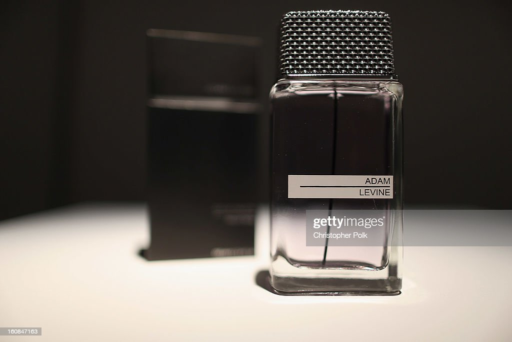 Adam Levine Launches Signature Fragrances At The Premier Fragrance Installation : News Photo