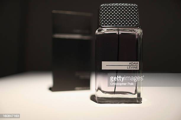 A general view of atmosphere at the Adam Levine launch of his signature fragrances at The Premier Fragrance Installation on February 6 2013 in Los...