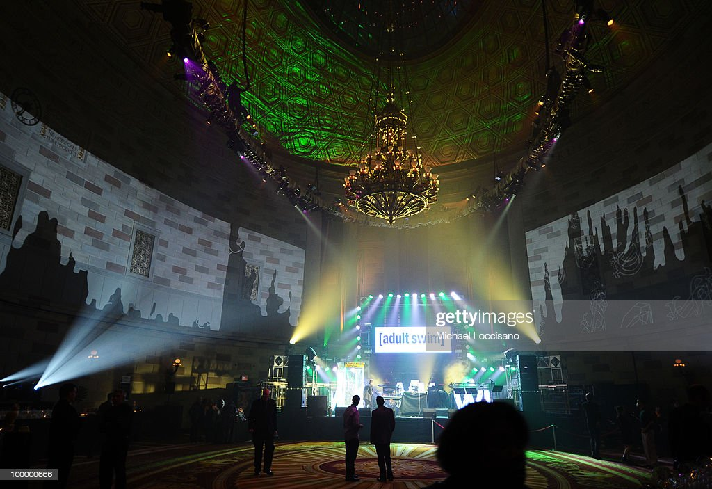 A general view of atmosphere at the Adult Swim Upfront 2010 at Gotham Hall on May 19, 2010 in New York City. 19913_001_0070.JPG