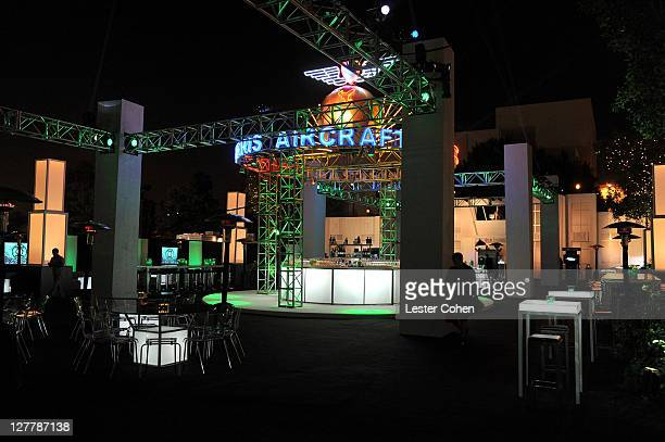 A general view of atmosphere at the after party for the Green Lantern Los Angeles Premiere held at Grauman's Chinese Theatre on June 15 2011 in...