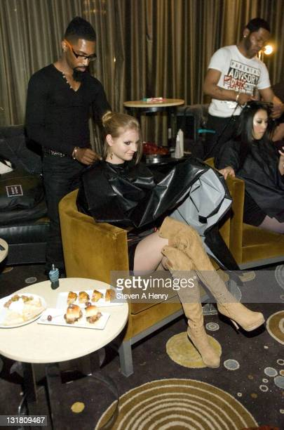 A general view of atmosphere at the Alisa Maria Furs Fall 2011 fashion show during MercedesBenz Fashion Week at The Empire Room on February 17 2011...