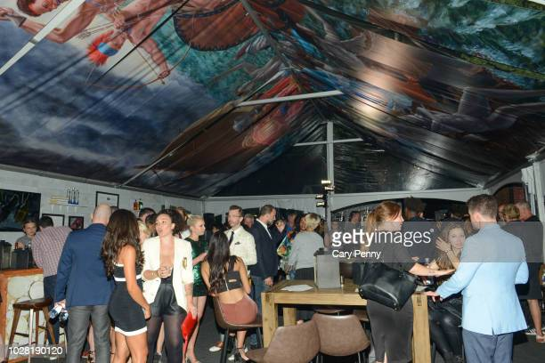 A general view of atmosphere at 'The Anthropocene Project' at Mongrel House during the 2018 Toronto International Film Festival at Roy Thompson Hall...