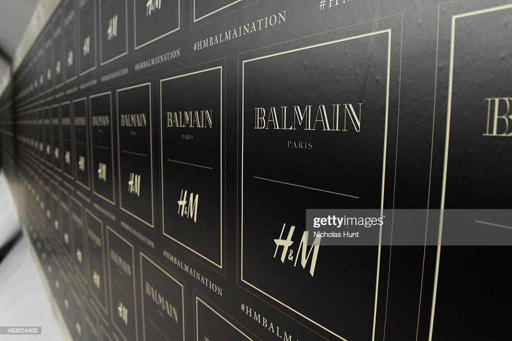 BALMAIN X H&M Collection Launch - Party : Foto di attualità