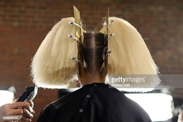A general view of atmosphere at The Blonds show during Spring 2016 MADE Fashion Week at Milk Studios on September 16 2015 in New York City