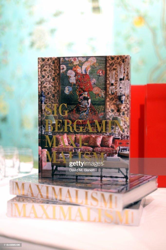 Maximalism: By Sig Bergamin Book Signing Party : News Photo