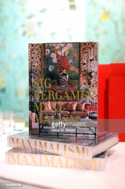 A general view of atmosphere at the book signing cocktail party celebrating Brazilian designer Sig Bergamin hosted by De Gournay and Assouline on...