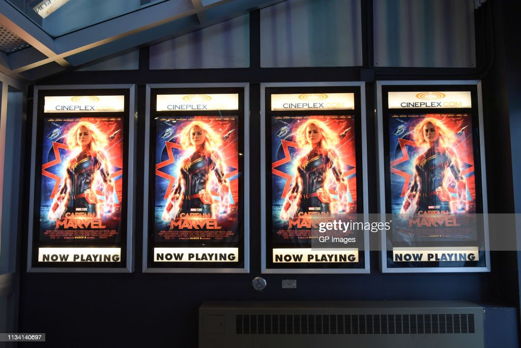 'Captain Marvel' Canadian Premiere : News Photo
