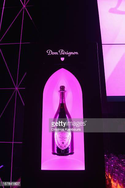 A general view of atmosphere at the celebration of Dom Perignon Luminous Rose at Wall at W Hotel on December 6 2012 in Miami Beach Florida