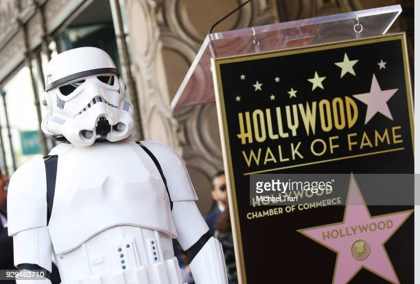 A general view of atmosphere at the ceremony honoring Mark Hamill with A Star on The Hollywood Walk of Fame held in front of El Capitan Theatre on...