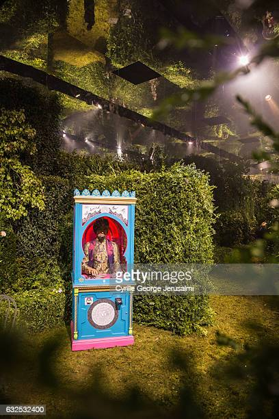 General view of atmosphere at the Christian Dior Haute Couture Spring Summer 2017 Bal Masque as part of Paris Fashion Week on January 23 2017 in...