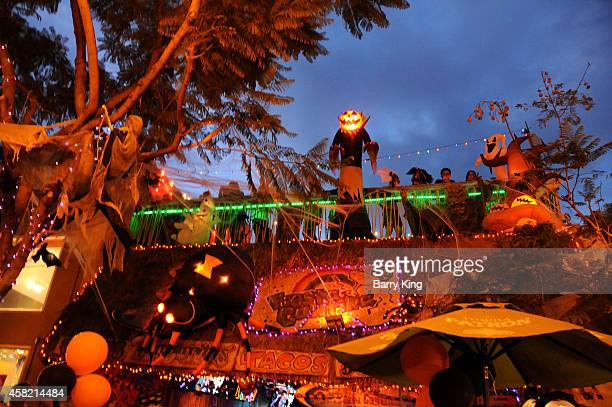A general view of atmosphere at The City Of West Hollywood's 2014 Halloween Carnaval on October 31 2014 in West Hollywood California