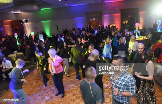A general view of atmosphere at the Closing Night Reception at the 30th Annual Palm Springs International Film Festival on January 13 2019 in Palm...