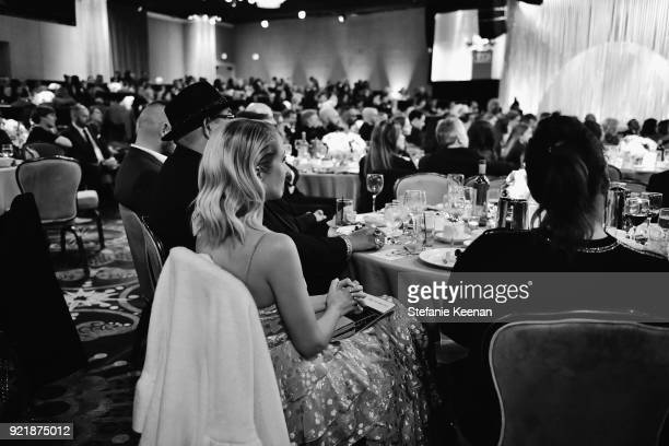 A general view of atmosphere at the Costume Designers Guild Awards at The Beverly Hilton Hotel on February 20 2018 in Beverly Hills California