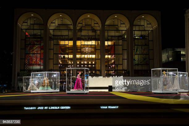 A general view of atmosphere at the Dolce Gabbana Alta Moda 2018 collection at the Metropolitan Opera House at Lincoln Center on April 8 2018 in New...