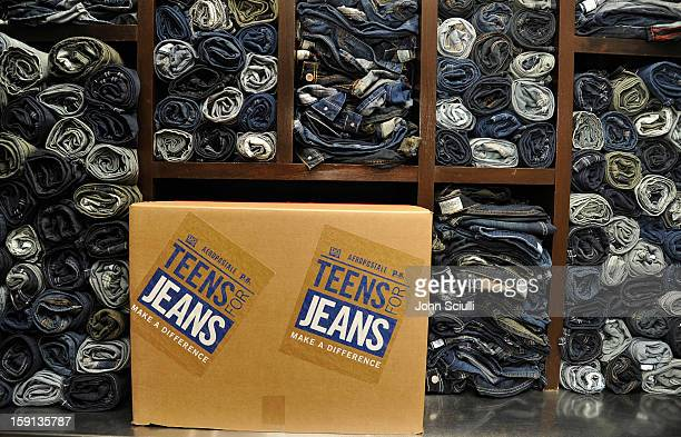 A general view of atmosphere at the DoSomethingorg and Aeropostale launch of the 6th annual Teens For Jeans hosted by Chloe Moretz at Palihouse on...