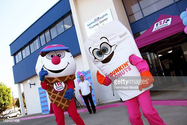 General view of atmosphere at the Dunkin' Donuts K-Cup packs introduced to California event held at Baskin-Robbins on October 4, 2012 in Burbank,...