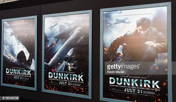 A general view of atmosphere at the DUNKIRK premiere in New York City