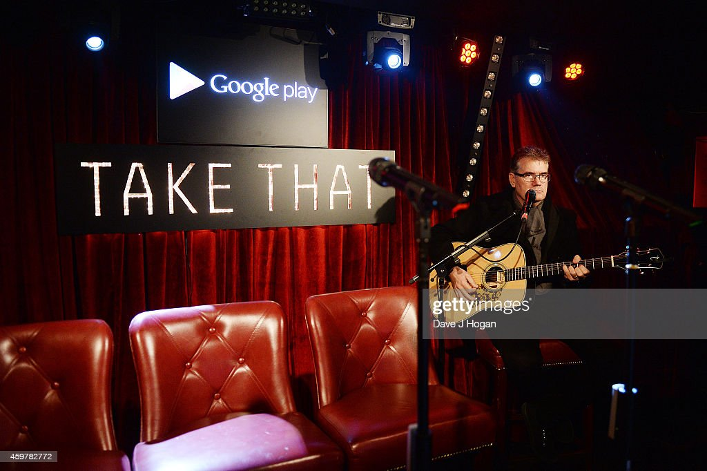A general view of atmosphere at the Exclusive Google Play gig to launch Take That's new album 'III' which will be available to stream exclusively on Google Play throughout December at Dover St Arts Club on December 1, 2014 in London, England.