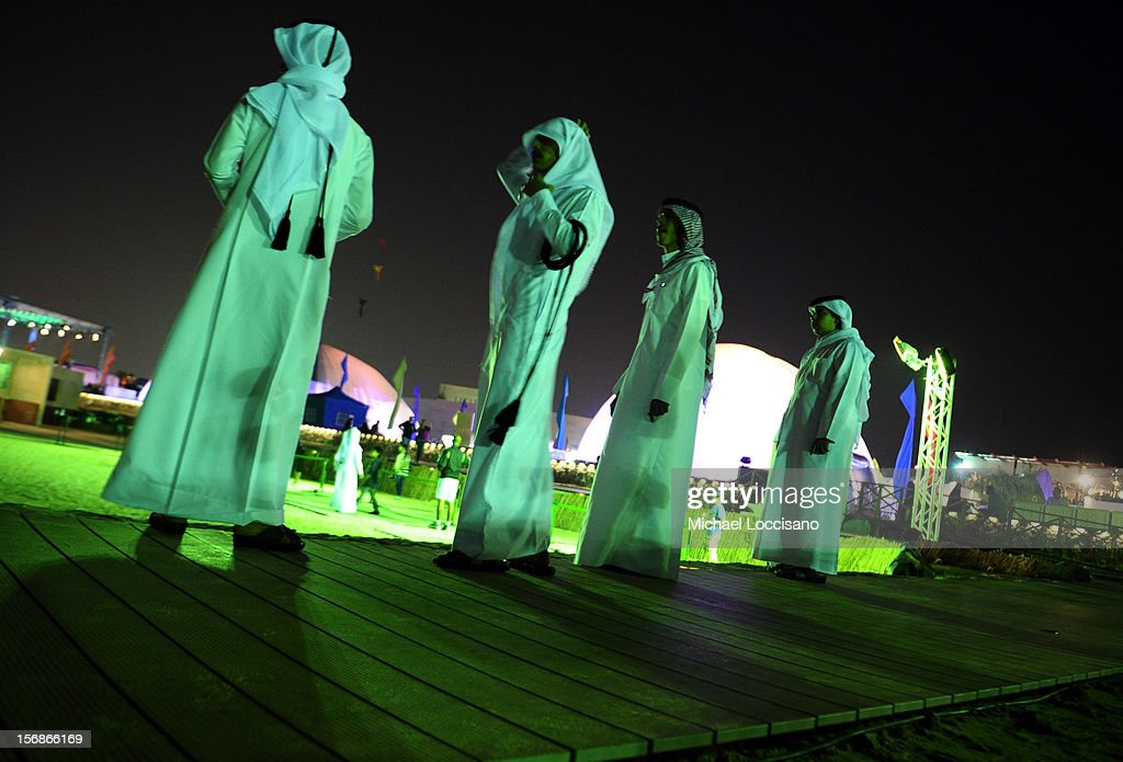 A general view of atmosphere at the Family Day during the 2012 Doha Tribeca Film Festival at on November 23, 2012 in Doha, Qatar.