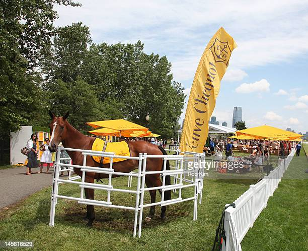 A general view of atmosphere at the FifthAnnual Veuve Clicquot Polo Classic at Liberty State Park on June 2 2012 in Jersey City New Jersey