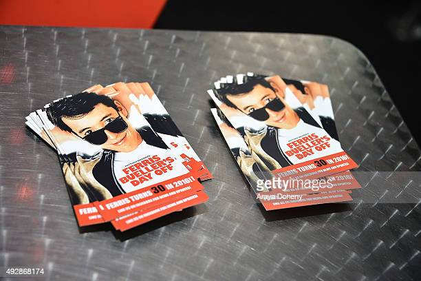 General view of atmosphere at the Film Independent Live Read: Ferris Bueller's Day Off at Bing Theatre At LACMA on October 15, 2015 in Los Angeles,...