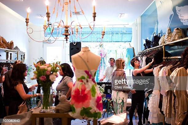 A general view of atmosphere at the Foley Corinna Melrose Avenue Event With Poshglamcom at Foley Corinna on June 9 2010 in Los Angeles California