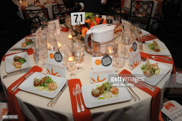 A general view of atmosphere at the Food Bank for New York City's 8th Annual CanDo Awards dinner at Abigail Kirsch�s Pier Sixty at Chelsea Piers on...